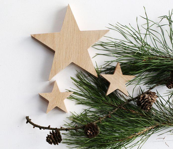 Gwiazdy drewniane w Botanika na DaWanda.com