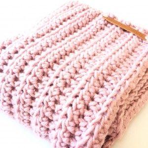 Gehaakte sjaal + patroon - LotteHaakt.nl