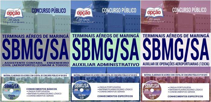 Apostilas Preparatorias Concurso Terminais Aereos De Maringa