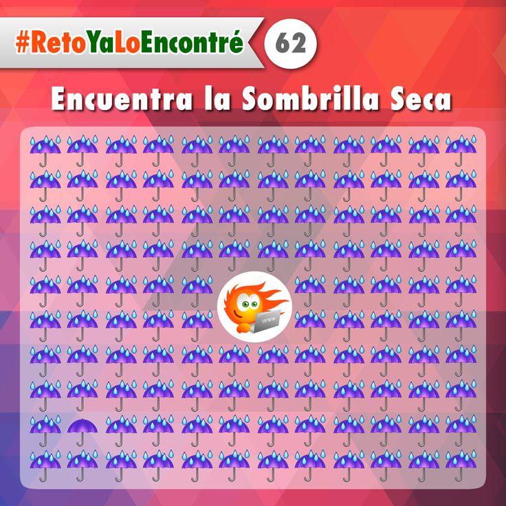 Encuentra La Sombrilla Seca #Juegos #RetosVisuales