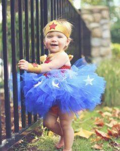 Wonder Woman Tutu Costume Baby