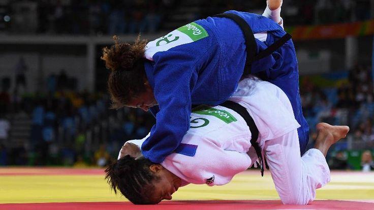 Rafaela Silva vence sul-coreana e segue na briga pelo ouro na Rio-2016 - 08/08/2016 - UOL Olimpíadas