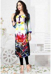 DESIGNER PURE GEORGETT DIGITAL PRINT KURTIS FOR WOMAN