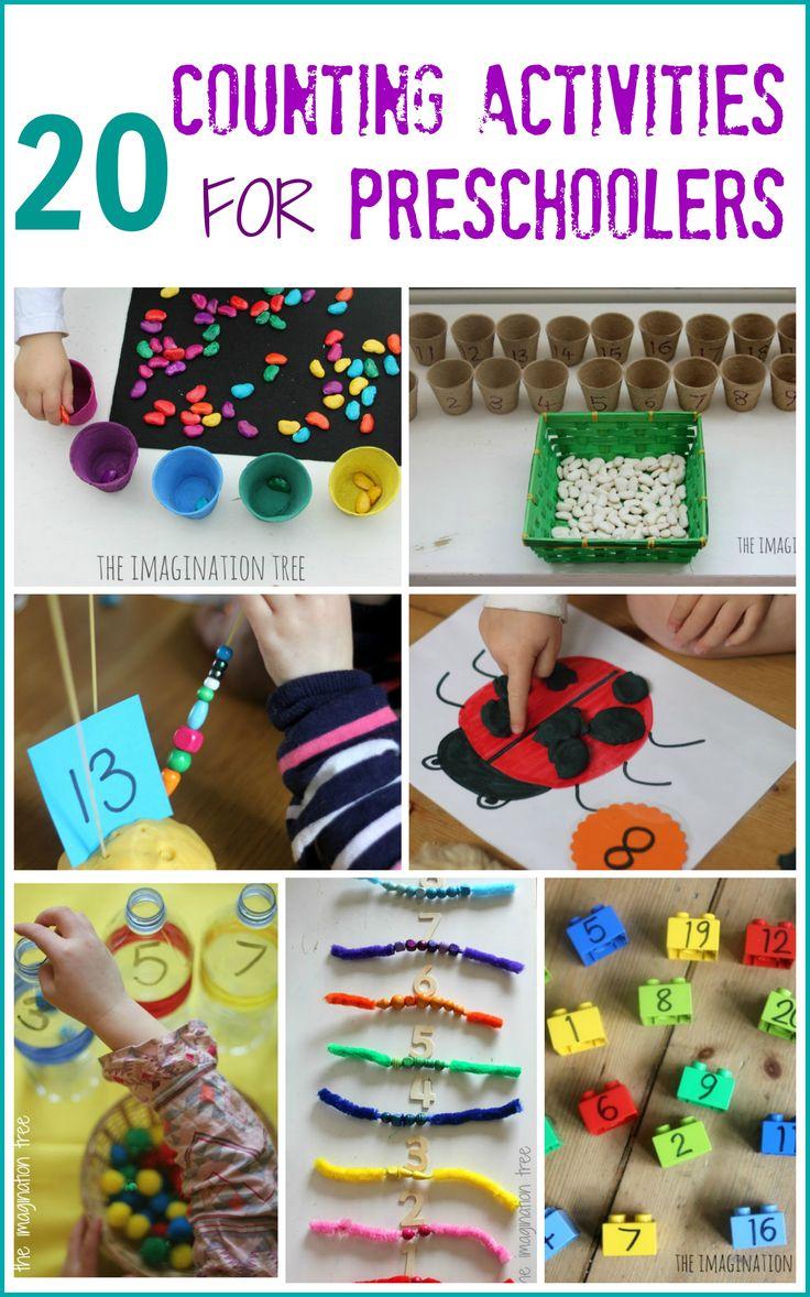 20 Counting Activities for Preschoolers