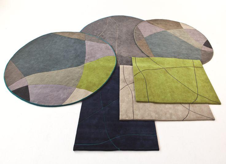 Tappeto a motivi Greenwich Rugs by BENE design PearsonLloyd