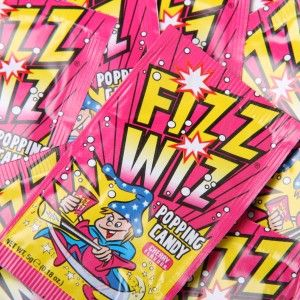 Fizz Wiz Popping Candy- CHerry - The greatest feeling in your mouth! The tangy taste cherry will take your taste buds to the next level!