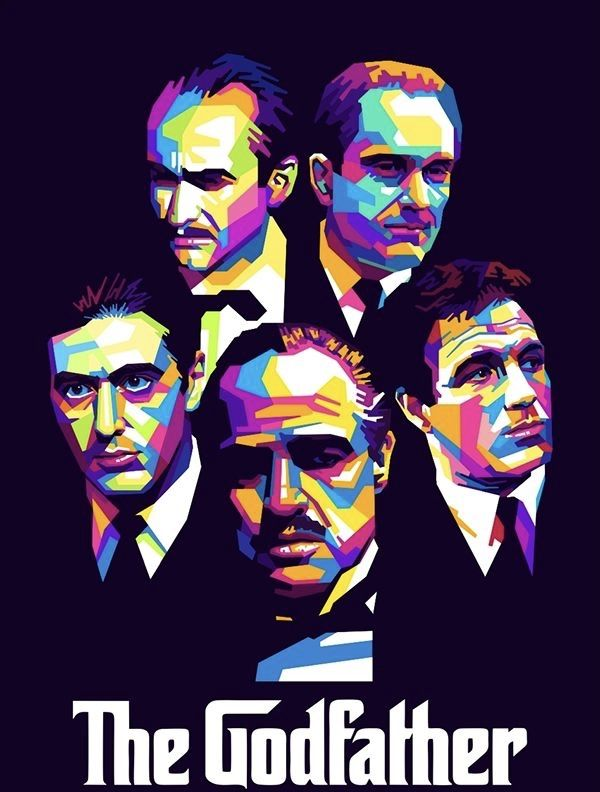 Thegodfather 1972 Posterart In 2020 The Godfather The Godfather Poster Movie Posters Vintage