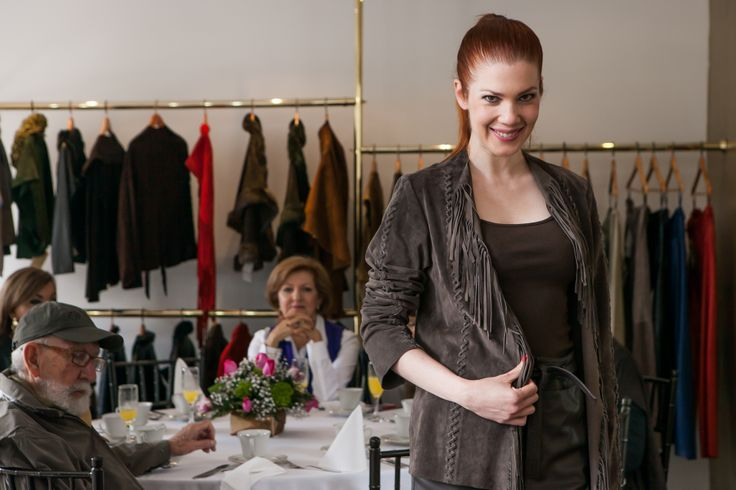 Julia de Rodriguez moda cuero hecho en colombia. leather fashion
