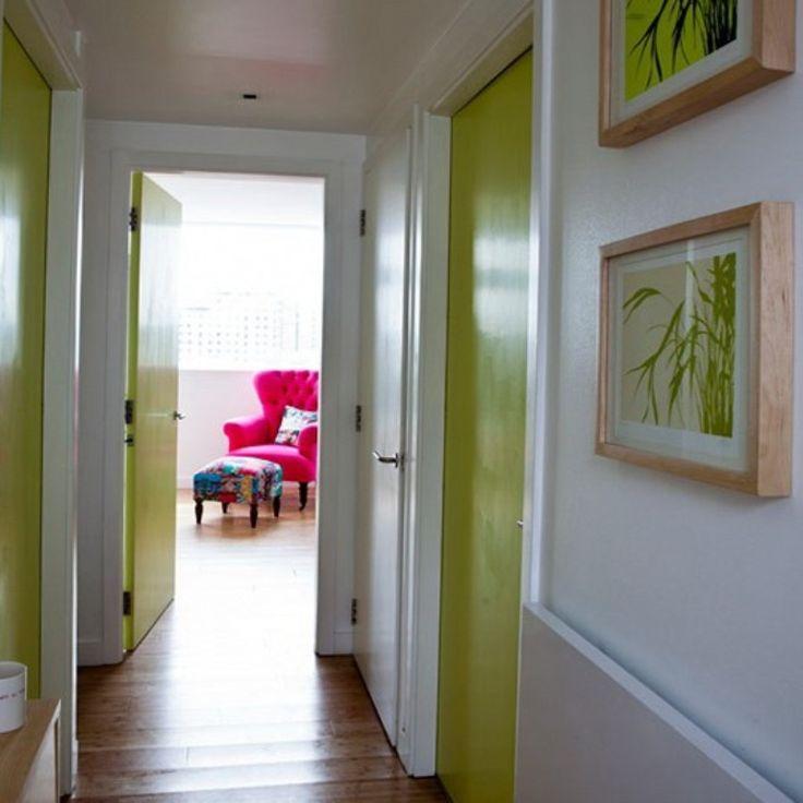 narrow hallway decorating ideas - Google Search
