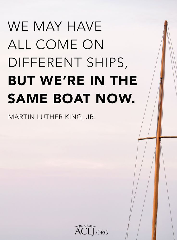 United we stand. Divided we fall. #MLK