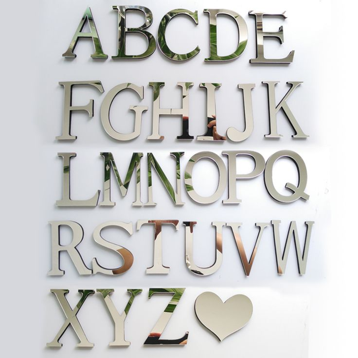 BUY now 4 XMAS n NY. 2017 New Acrylic Mirror 3D DIY wall stickers stickers English letters home decoration  creative personality Special -- Shop 4 Xmas n 2018. Just click the VISIT button to view the details on  AliExpress.com.