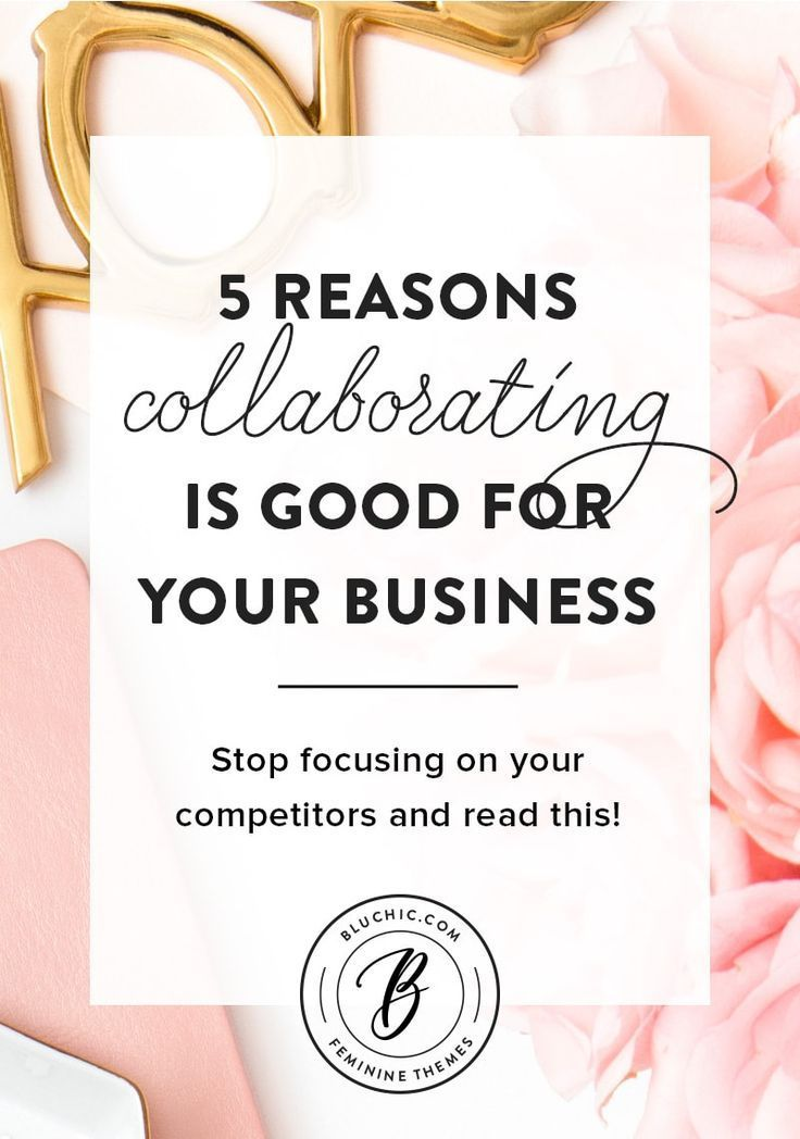 Competing should never be a primary focus of your business. We detail 5 reasons why collaborating instead of competing is good for your business. Click to read more!