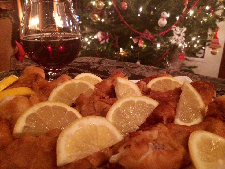 Fish and chips à la bière local Louis XVII sans gluten
