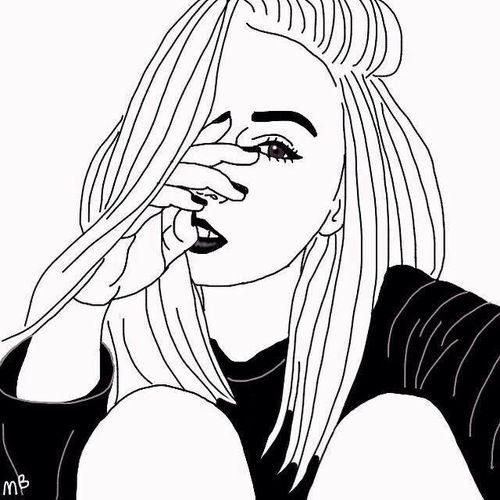 Line Art Instagram : Best images about tumblr outlines on pinterest girls