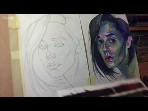 Уроки живописи: Рисовать легко! День 7. Вирика Темнова - YouTube