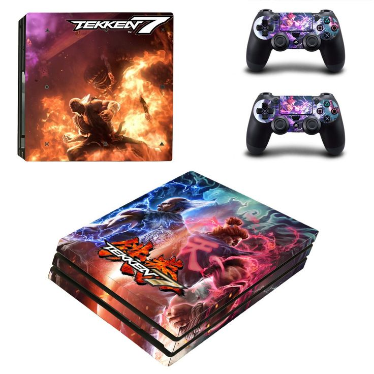 Tekken 7 ps4 pro edition skin decal for console and controllers