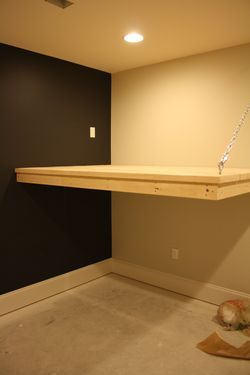 114 best images about loft bed ideas on pinterest built in bunks nooks and ladder - Beds attached to the wall ...