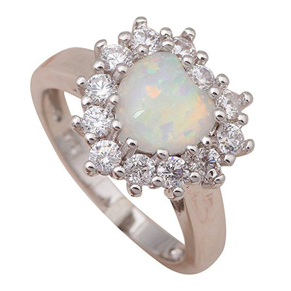 T-Jewelry Fashion Shining Crystal White Fire Opal Jewelry Engagement Ring Silver Plated Ring For Women Rings (7)