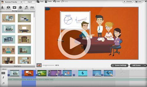 ¿Te gustaría hacer vídeos para tus clases pero no tienes tiempo, ni recursos, ni conocimientos? GoAnimate te permite hacerlo.