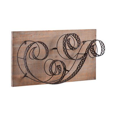 Shop Boston Loft Furnishings Jeansonne Wall Mount Wine Rack At Lowes Canada Find Our Selection Of Racks The Lowest Price Guaranteed With