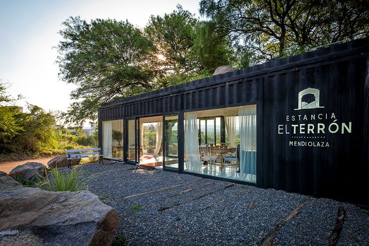 It seems that there's no end to the potential uses of shipping containers. This particular container was converted into a sales gallery for country club in