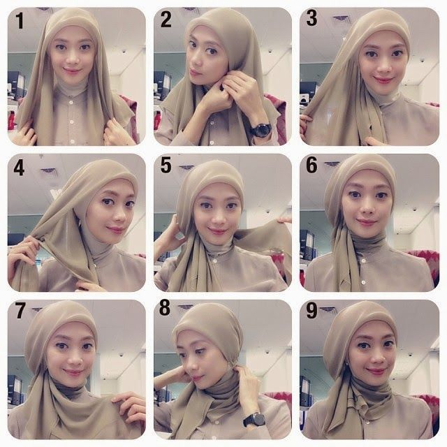 PARTY hijab tutorial #ayuaryuli #dpcollection