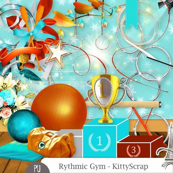 Le Blog de kittyscrap: ESSENTIEL : Rythmic Gym