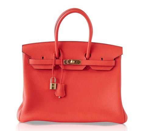 79b6348ba3b8 Guaranteed authentic 35 Hermes Birkin gorgeous Capucine bag in Togo  leather. A beautiful summer neutral.