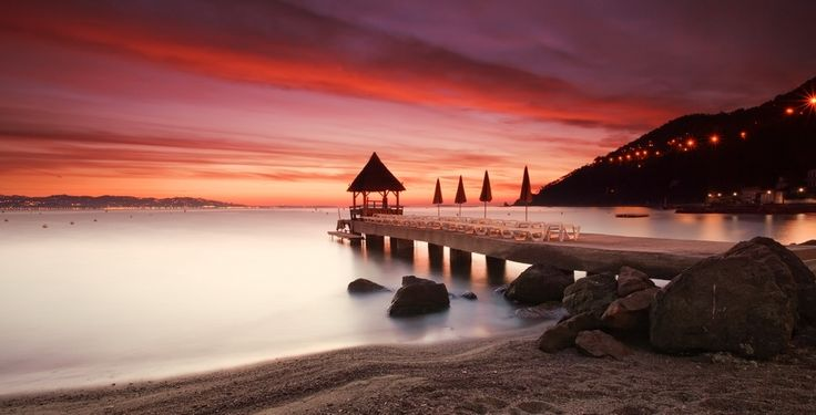 Sunrise @ Théoule sur Mer (French Riviera) by Eric Rousset, via 500px
