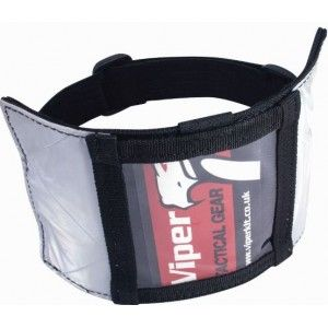 Viper ID Reflective High Visibility Armband Patch, SIA Security License Doorman