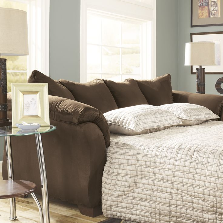 (Den) Huntsville Full Sleeper Sofa by Alcott Hill