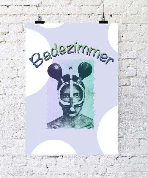 Fresh Kunstdruck Poster Badezimmer