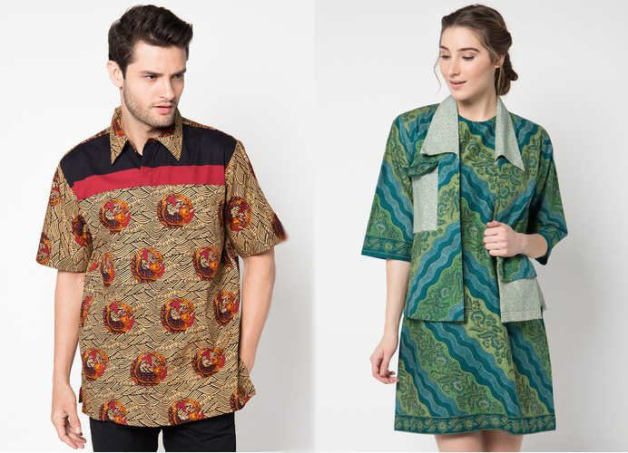 17 best Model Baju Batik images on Pinterest  Modern Blazers and