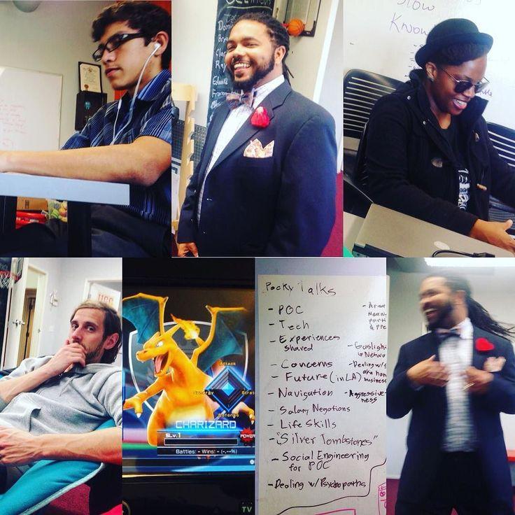 Sunday Hacker Day: All  Style @urbantxt #programming #development #hackerspace #arduino #3d #zbrush #apcomputerscience #vr #oculus #robotics #python #hackers #gamedev #diversity #wegoingtobealright #fighton #USC #cubetxt #pokemon #wiiu #sundayhackerclub #la #losangles by archiefromamerica