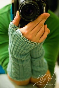 Armstulpen aus Pulloverärmeln