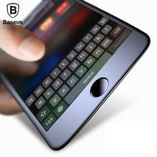De Baseus Premium Screen Protector de Cristal Templado Para el iphone 7 3D helado Suave Protección Completa Cubierta de Cristal de Cine Para el iphone 7 Plus