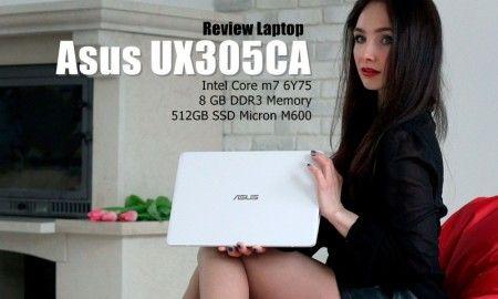 Review Asus Zenbook UX305CA: Ramping dan Ringan