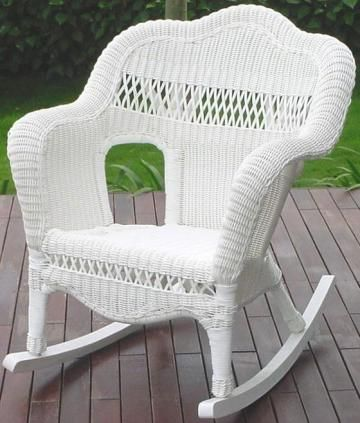 Sahara Outdoor Rocker - Outdoor Rocking Chairs - Patio Furniture - Outdoor | HomeDecorators.com --- IN NATURAL THIS!!!