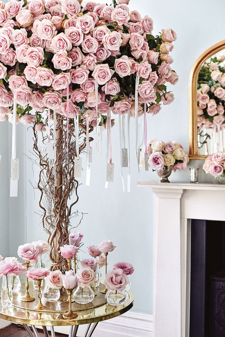 wedding ideas pink wedding floral arrangements a collection of weddings 28282