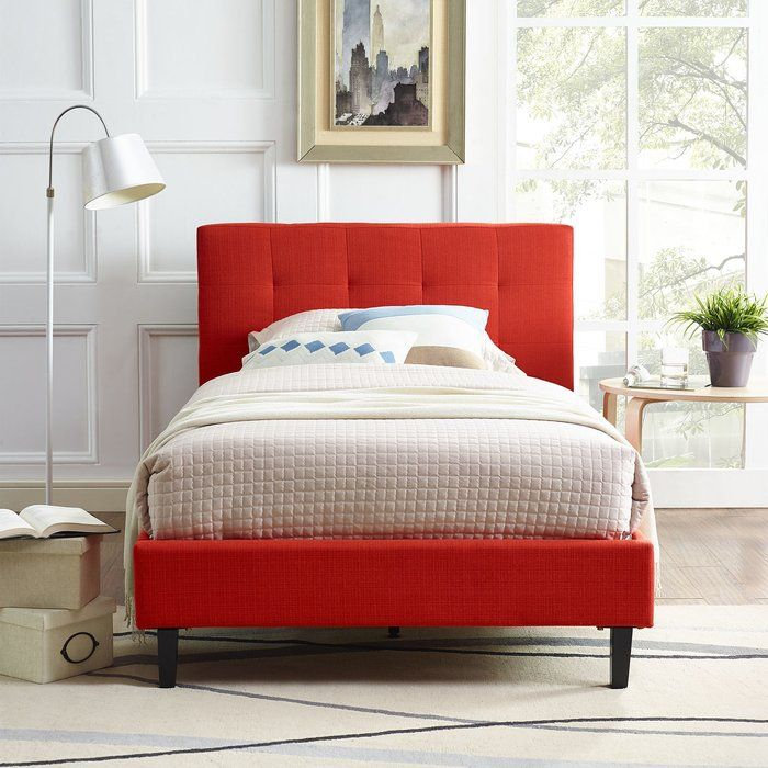 Andover Mills Sinead Upholstered Platform Bed Reviews Wayfair