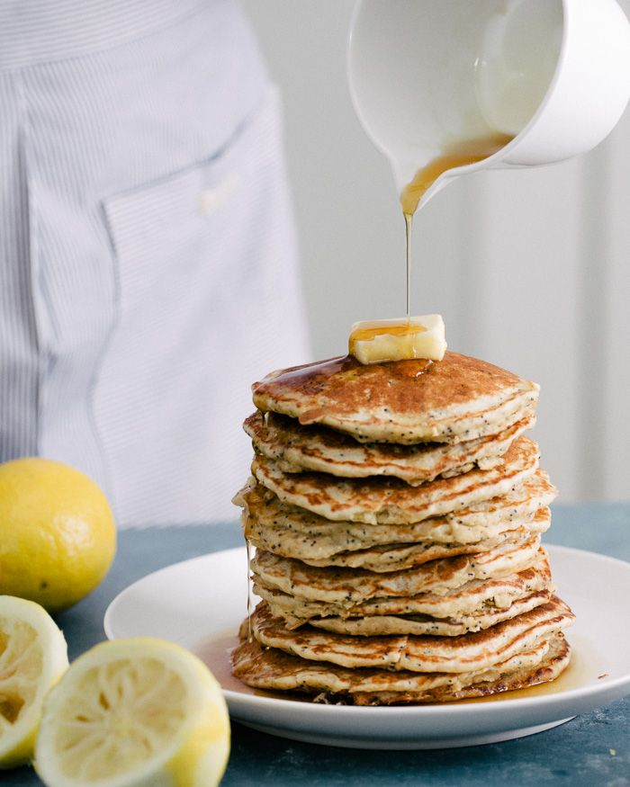 In the nearly four years that we\'ve written this blog, we have never made a pancake recipe (shocking, I know!). But actually, we\'re simple breakfast people: me with my whole grain English muffin and PB, and Alex with his wait-until-I-get-hungry-then-eat-massive-amounts-of-yogurt-and-granola.One of my complaints about pancakes has always been that they ...