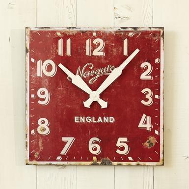 CORNWELL CLOCKPainted Wood, Vintage Clocks, Old Clocks, Ministry Wall, Sundance Catalog, Painting Wood, Design Kitchen, Wall Clocks, Cornwell Clocks