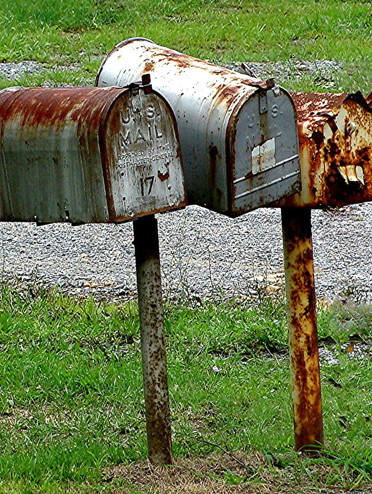 Rusted Mailboxes