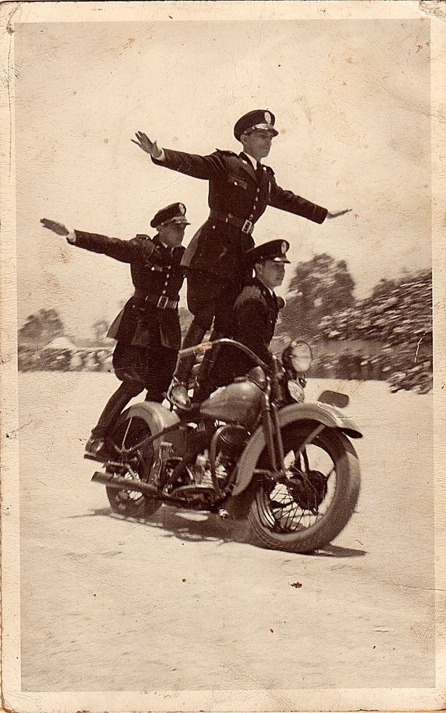 Vintage Motorcycle Photograph [HelmetCity Pinterest Contest - One with Nature and the Road] #Helmetcity_Contest HelmetCity.com