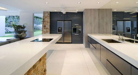 Modern kitchen by SoFlo Home Design
