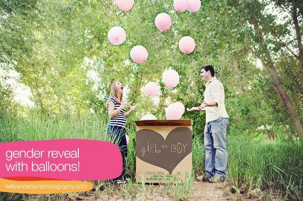 gender reveal: Baby Gender, Gender Reveal Photos, Gender Reveal Parties, Cute Ideas, Genderreveal, Reveal Ideas, Photos Shoots, Balloon, Baby Shower
