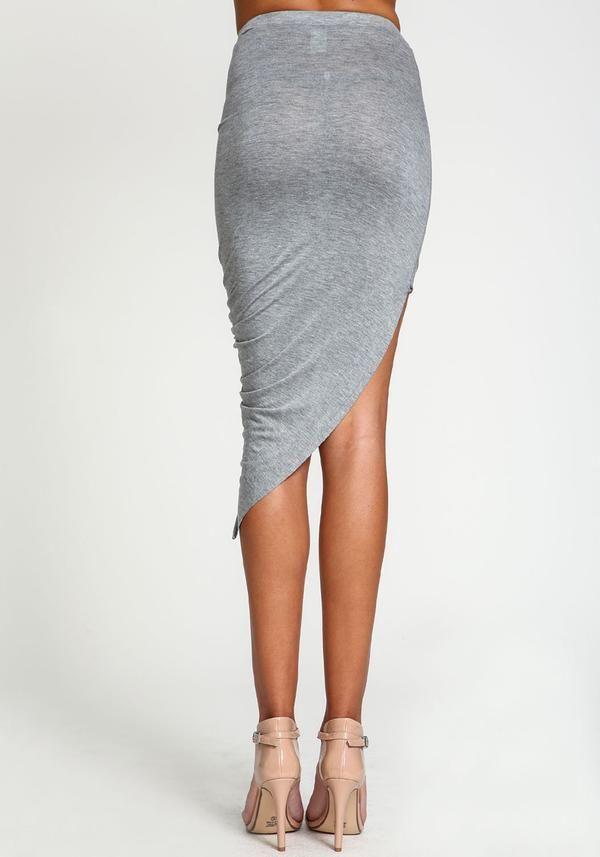 4b182f733 2019 Summer Women Skirt Hem Cross Fold Sexy Wrap Banded Waist Draped women  skirt Cut Out Asymmetrical Pencil Skirts XS-XXXL 504