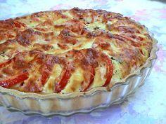 Recette de Tarte à la tomate et au basilic : la recette facile