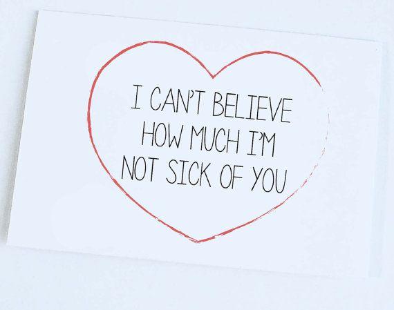 Eine Lustige Art Zu Sagen Ich Liebe Dich Ich Kann Nicht Glauben, Wie Viel,