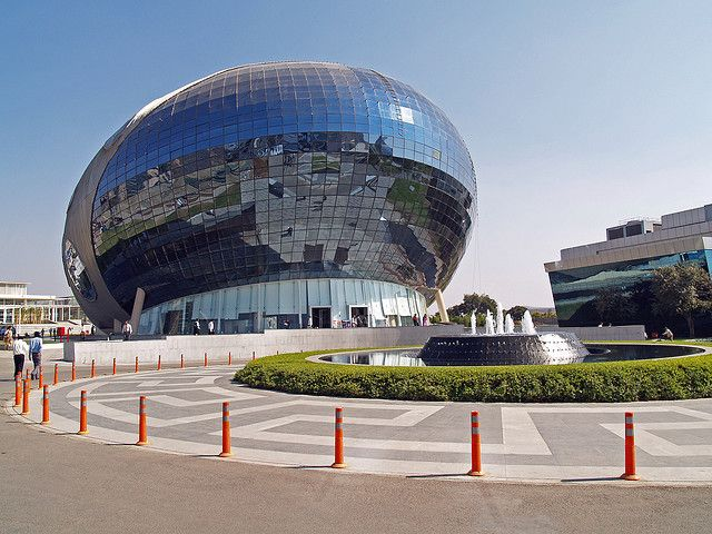Infosys building – Hinjawadi, Pune, India - Facade Cleaned by Technoclean